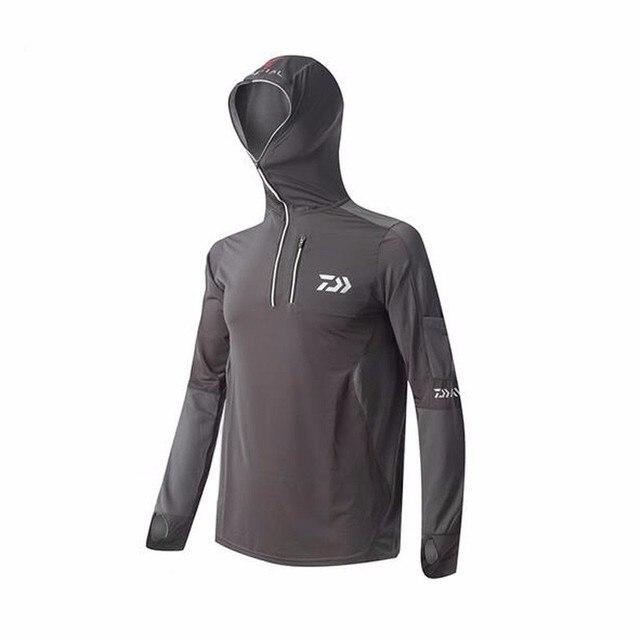 50 2017 rápido secado pesca Daiwa protector manga hombres transpirable ropa UPF solar camisa marca Bq7HrBwxS