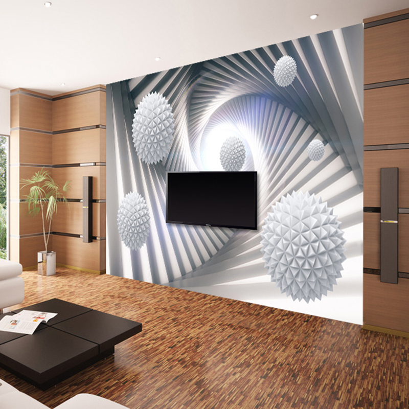 Custom 3D Murales Carta Da Parati Moderna Astratta Stereoscopico ...