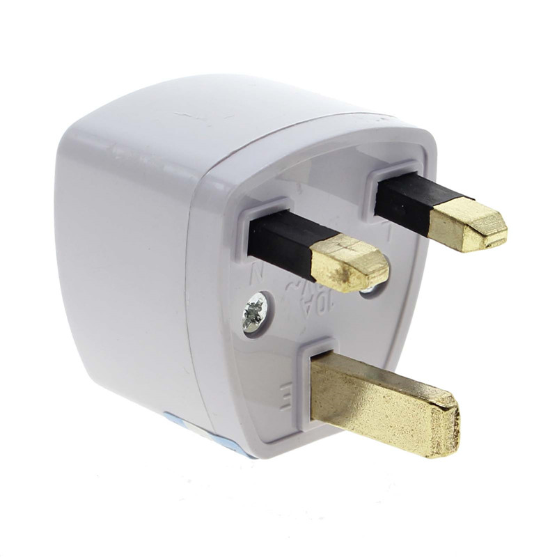 Travel To UK England Great Britain Plug Power Adapter Converter From EU US AU