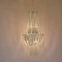 New post modern minimalist luxury metal crystal ceiling chandeliers Nordic living room villa duplex floor atmosphere led lamps