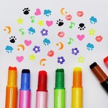 40 pcs/Lot Metal fine tip color pen Stamp highlighter Seal marker Stationery Office School supplies Canetas escolar CB775