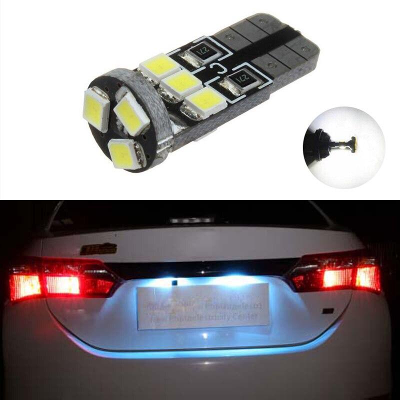 For Ford Fiesta Mk6 Mk 6 ST Xenon White LED Number Plate Light Bulbs *SALE*