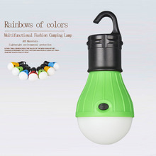 Portable+Lighting 3 Colors ABS Hanging Outdoor Lantern  LED Tent Mini Dimming Camping Light