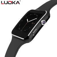 LUOKA Newt Bluetooth Smart Watch X6 Sport Passometer Smartwatch With Camera Support SIM Card Whatsapp Facebook