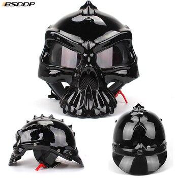 Skull Biker Helmet 1