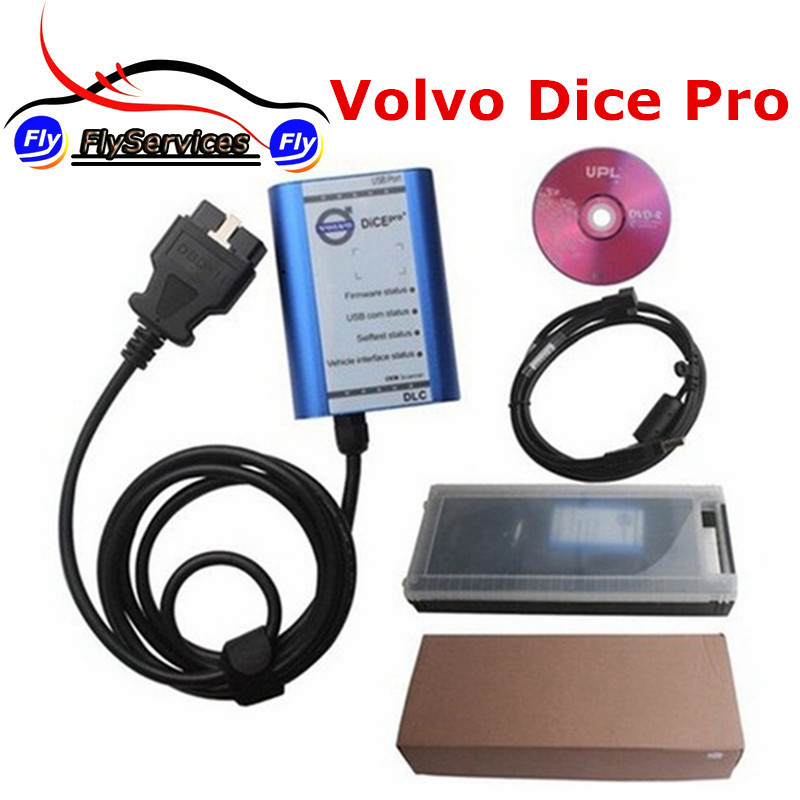 Latest Version Professional Interface For Volvo Vida Dice 2014D Super For Volvo Dice Pro Support Firmware Update&Self-Test best car tuning version vida dice 2014d for professional diagnostic scanner multi language warranty quality and free ship
