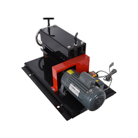 Руководство двойной электрический с машина для зачистки проводов Электрический Лом кабеля зачистки проводов машины 1,5 38 мм