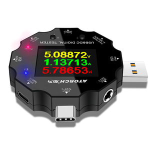 Image 5 - DC5.5 USB 3.0 Type C 18 in 1 USB 테스터 dc 디지털 전압계 보조베터리 충전기 전압계 + PD3.0/2.0 프로토콜 트리거