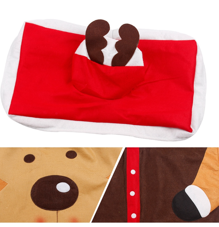 HTB1lA.gSFXXXXajXpXXq6xXFXXXl - FENGRISE Santa Claus Rug Toilet Seat Cover Christmas Decoration Fancy