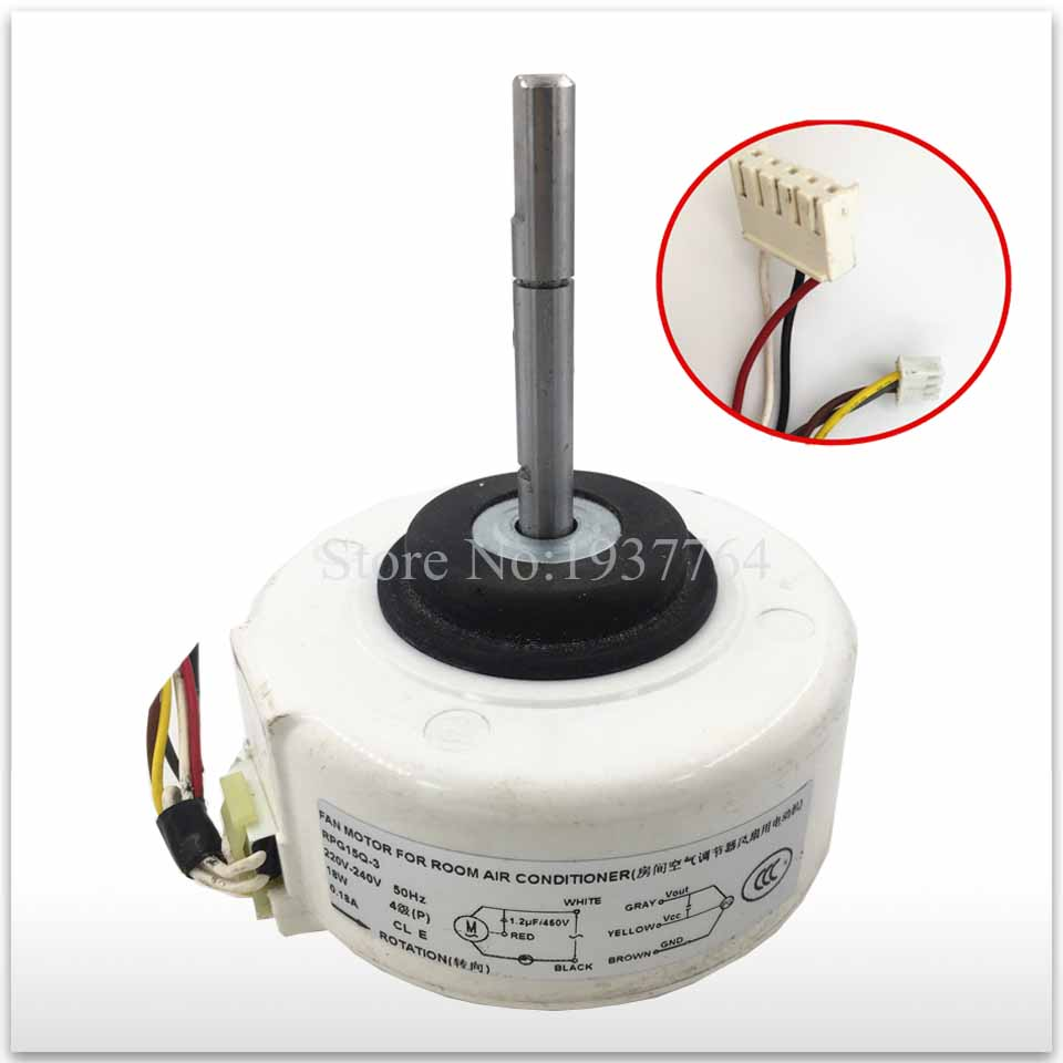 100% new for air conditioning Air conditioner Fan motor DC motor RPG15Q-3 цены
