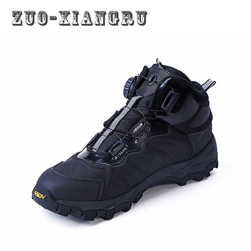 Winter Autumn Lightweight Men's Outdoor Waterproof Army Hiking Shoes Fast Walking Jogging Trekking Climbing Sport Shoes for Men