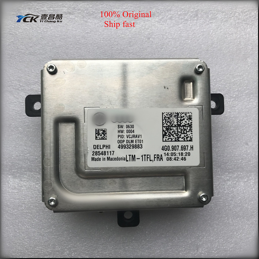 1PC Original YCK LED Driver 4G0.907.697.H 4G0907697H 499329883 28548117  (Genuine and Used)|Car Light Accessories|   - title=