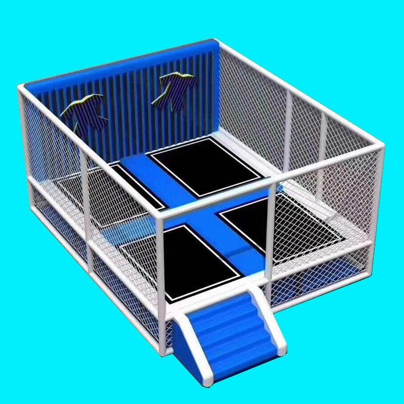Dostosowane park trampolina lepkie magia ściany kryty plac zabaw lepkie tkaniny skok łóżko wklejony ściany YLW-BT190415