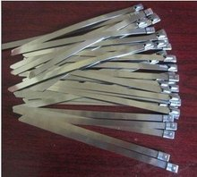 stainless steel cable tie 4.5*300mm,used in shipping