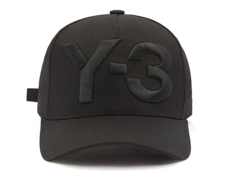 d3fd44e4676a4 2017 New Y-3 Dad Hat Big Bold Embroidered Logo Hip Hop Baseball Cap  Adjustable Strapback Hats Y3
