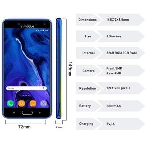 "Image 3 - TEENO Vmobile J7 Mobiele Telefoon Android 7.0 5.5 ""Hd scherm 3GB + 32GB Dual Sim kaart 4G celular Smartphone ontgrendeld Mobiele Telefoons"