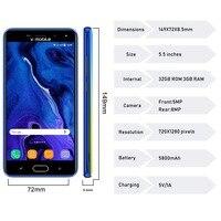 "cell phone screen TEENO Vmobile J7 Mobile Phone Android 7.0 5.5"" HD Screen 3GB+32GB Dual SIM Card 4G celular Smartphone unlocked Cell Phones (3)"
