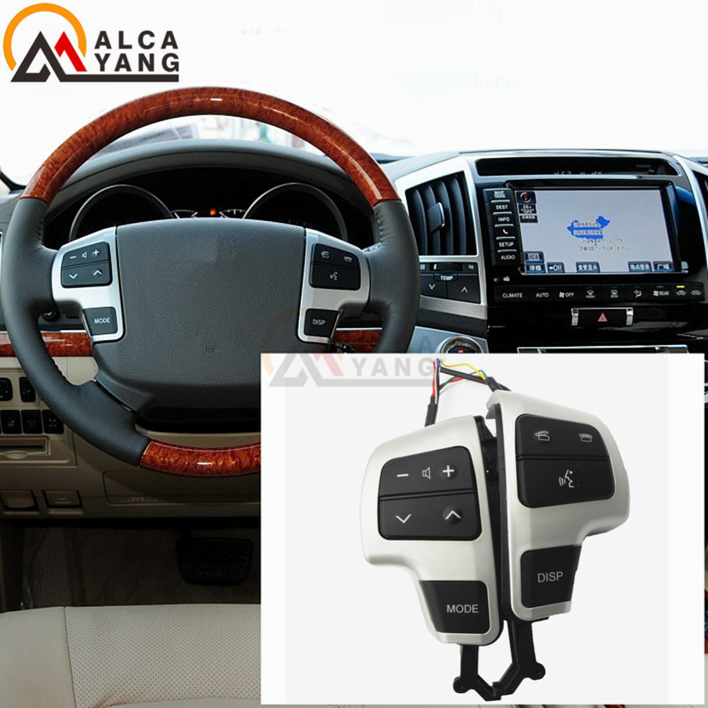 Malcayang Steering PAD Audio Control Switch 84250-60050 For Toyota LAND CRUISER 200 2008-2011Malcayang Steering PAD Audio Control Switch 84250-60050 For Toyota LAND CRUISER 200 2008-2011