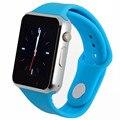 Bluetooth smart watch для android телефон поддержка SIM/SD карты мужчины женщины спорт для huawei сяо mi Силиконовый ремешок pk DZ09 GT08 A1