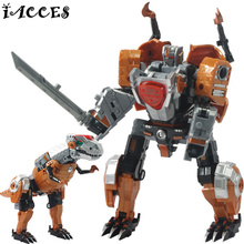 New 5 in 1 Deformation Toy Transformation 4 Dragon Action Figures Anime Dinosaur Juguetes Classic Robot Brinquedos Boy Toy Gifts