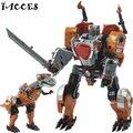 Nova 5 em 1 Brinquedo Deformação 4 Dragão Figuras de Ação Anime Juguetes Dinossauro Clássico Deformação Robô Brinquedos Brinquedo do Menino Presentes