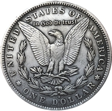 Hobo Nickel  1921-D USA Morgan Dollar COIN COPY  Type 93