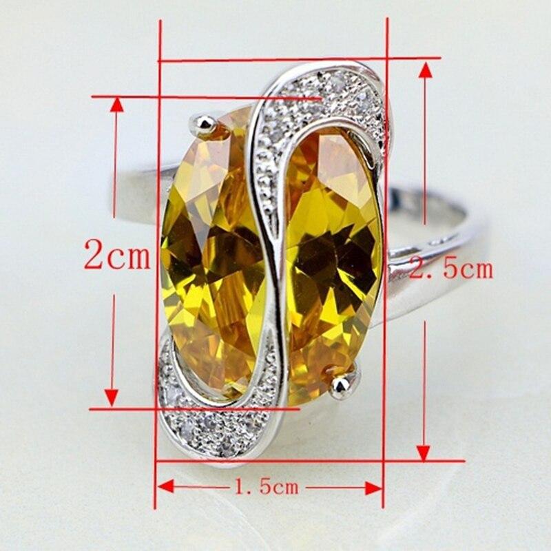 Trendiga 925 Sterling Silver Smycken 11 Flerfärgade Cubic Zirconia - Märkessmycken - Foto 5