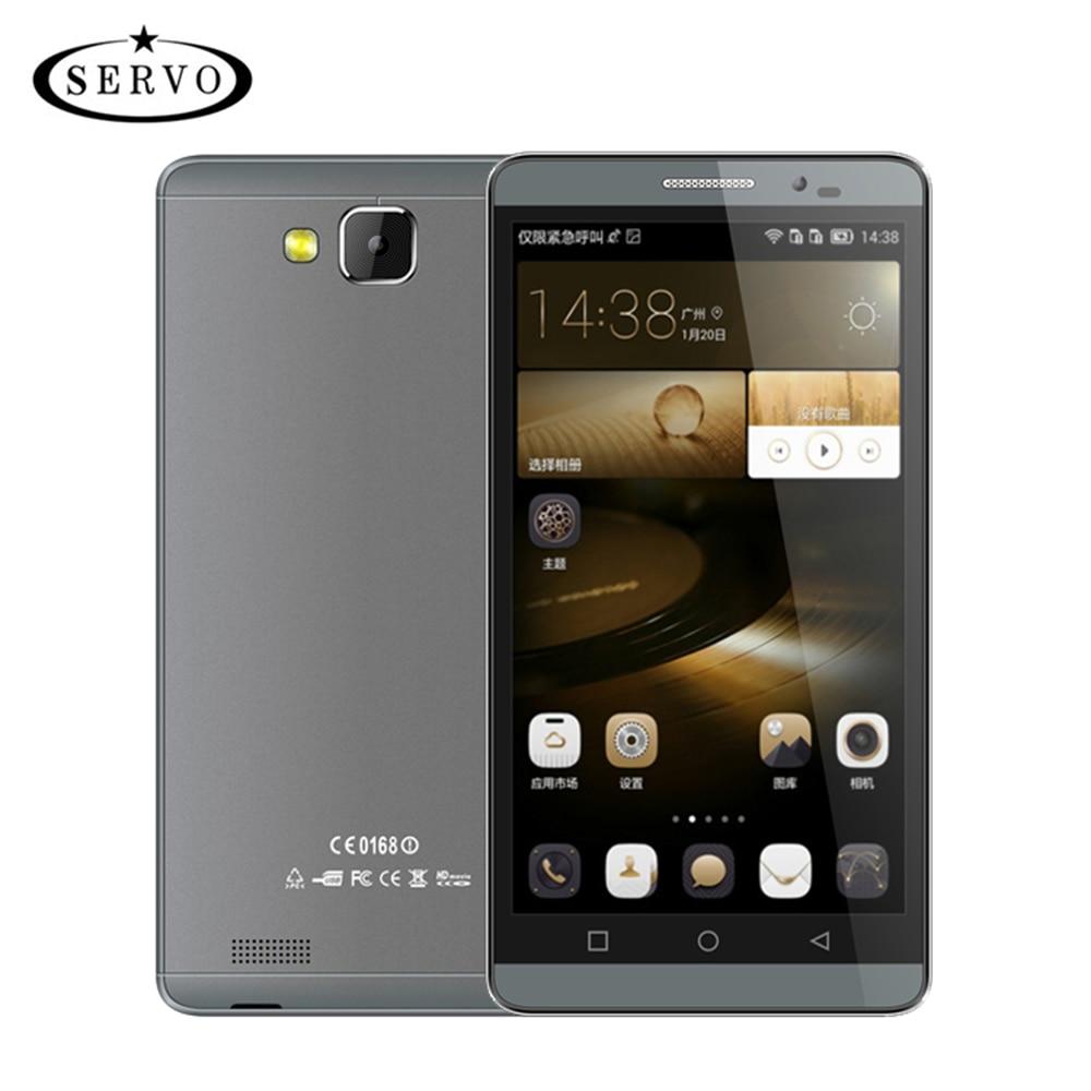 Original Phone SERVO Mate 7 5 5 inch IPS Android 5 1 ROM 8GB 960 540P