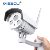 MISECU Ip Camera 960P 2 Array Leds P2P Wireless Wifi 1280 960P Wifi Night Vision In