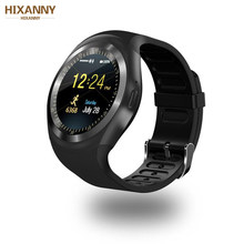 Bluetooth Smart Watch Relogio Android SmartWatch Phone Call GSM Sim Remote Camera Information Display Sports Pedometer PK M 3(China)