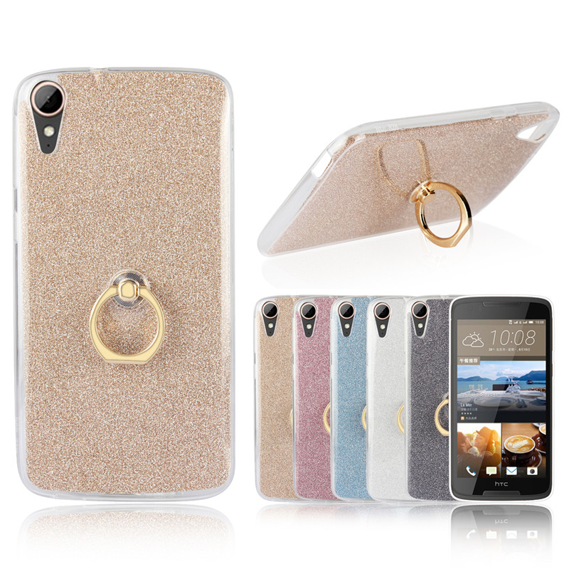 Colorful Silicon Case for HTC Desire 828 Luxury Bling Soft