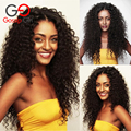 7A Brazilian Virgin Hair With Closure Kinky Curly Virgin Hair With Closure 5Pcs/Lot Good Quality Kinky Curly Hair With Closure