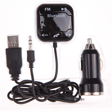 New BT-760 Bluetooth Audio Receiver Hands-free Car Kit for Music & Talking Car Kit bluetooth hands free HIgh Quality