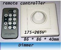 Ha condotto la luce di telecomando A Raggi Infrarossi dimmer SCR/86 Panel dimmer interruttore 220 V