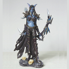 19cm Cataclysm Figures of Games Sylvanas Windrunner Action Figure PVC Collectible Model Toy Collectible Toys Birthday Gift цены онлайн