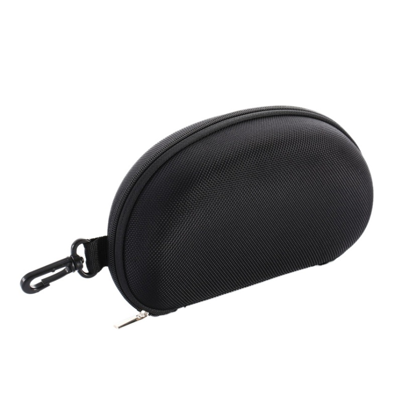 Hot Sale Bags Women Men Large Black Bag Sunglass Zipper Hard Eyeglass Eyewear Storage Container Protector Box With Hook