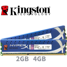 Kingston HyperX PC หน่วยความจำ RAM โมดูลคอมพิวเตอร์เดสก์ท็อป 2GB 4GB DDR3 PC3 10600 12800 1333MHZ 1600 MHZ 2G 4G 1333 1600 MHZ