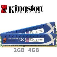 Kingston módulo de Memoria RAM para PC HyperX, 2GB, 4GB, DDR3, PC3, 10600, 12800 MHZ, 1333MHZ, 2G, 4G, 1600, 1333MHZ