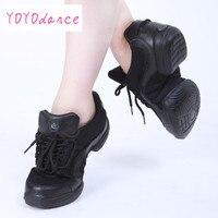 Новое поступление кожа сетка танцевальной обуви Джаз Хип-хоп высокий каблук тапки повысить женская спортивная обувь Детские кроссовки d015000