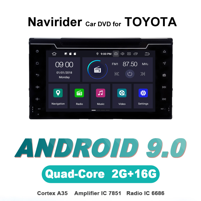 touch screen OTOJETA Android 9.0 car dvd player FOR TOYOTA COROLLA 2017 stereo navigation car accessories gps Multimedia radio touch screen OTOJETA Android 9.0 car dvd player FOR TOYOTA COROLLA 2017 stereo navigation car accessories gps Multimedia radio