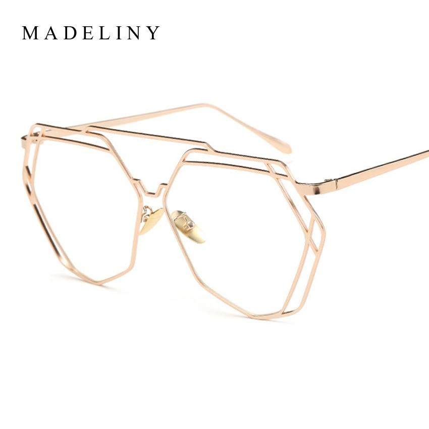 ᑐMadeliny nuevas mujeres gafas Marcos marca diseñador de lujo ...