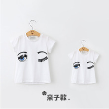 2016 New Matching Mother Son Clothes Cool Family T-Shirt Fashion Family Clothing Mother Father Baby Tshirts(China)