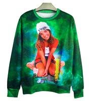 Harajuku hoodies mannen/vrouwen Britney Spears Baby Een Meer Tijd print 3d sweatshirt Unisex Jumper size size moletom Drop verzending