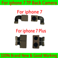 Test Back Rear Camera With Flash Module Sensor Flex Cable For iPhone 7 7 Plus Replacement Parts Back Rear Camera