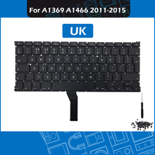 Full New A1466 Keyboard UK Layout + Backlight Screws for Macbook Air 13″ A1369 A1466 Replacement keyboard 2011-2015 Year