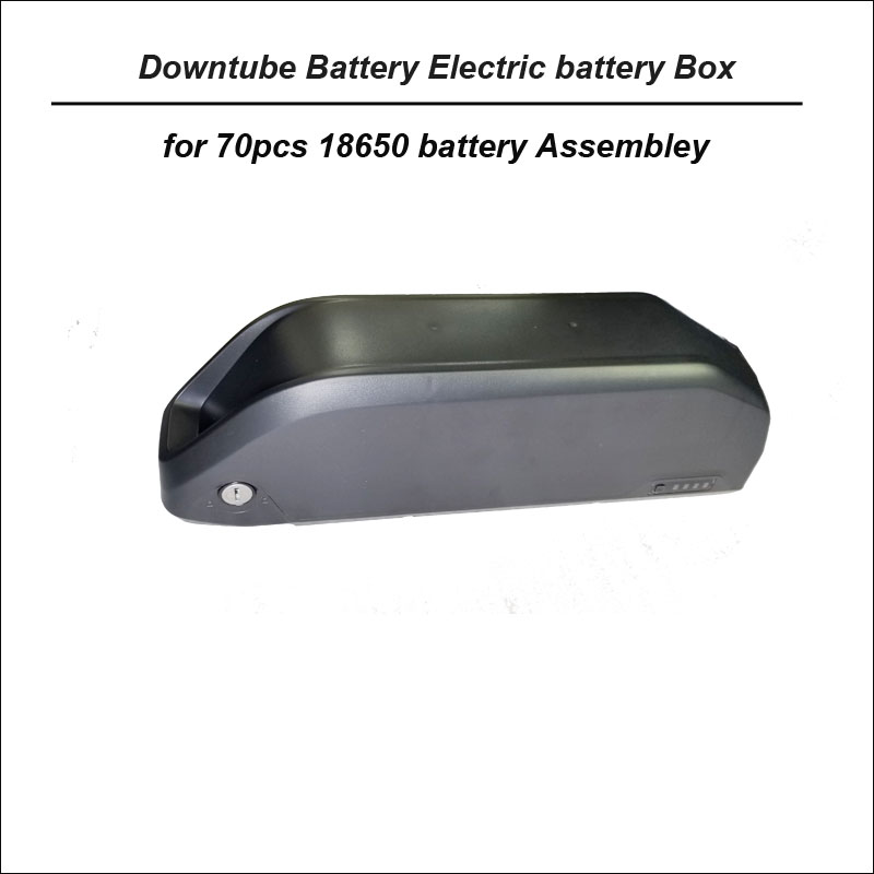 High quality ABS plastic downtube battery storage box for electric bike or bicyle battery case suitable