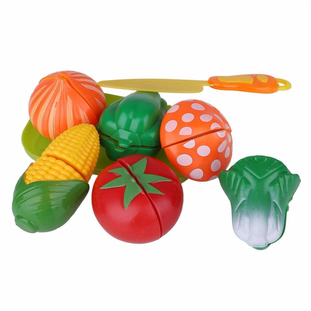 Fruit factory game - 1 Set Kids Baby Roles Play Game Cooking Fruit Vegetable Food Development Cutting Toys Gift Kitchen