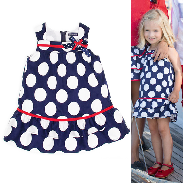 (New product)spring/summer 2016 new jacadi-MONSOON-BP childrens GIRLS baby girls wear dress 06