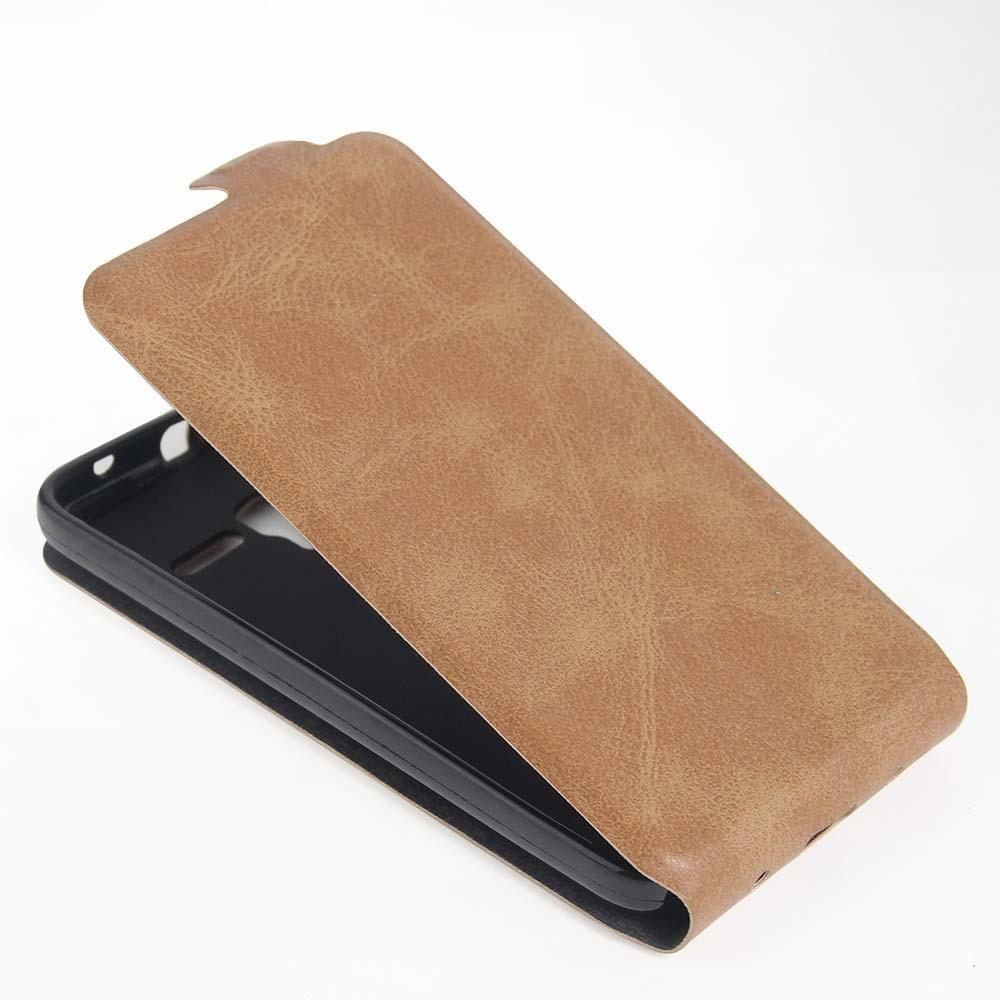 Nuevo teléfono móvil de cuero case para alcatel onetouch pop3 (5) pixi (5) 5.0 p