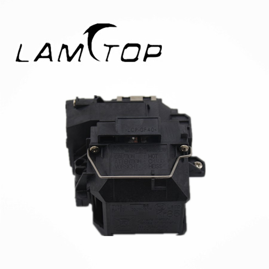 Free shipping   LAMTOP  projector lamp  with housing/cage  ELPLP56  for  MovieMate 61 free shipping lamtop projector lamp with housing cage elplp40 for emp1815